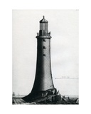 South Elevation of the Stone Lighthouse Completed Upon the Edystone in 1759, 1763 Giclee Print by Edward Rooker