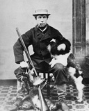 Willoughby Wallace Hooper after Shooting, C.1860-80 Photographic Print by Willoughby Wallace Hooper