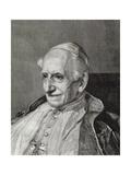 Leo Xiii (1810-1903). Italian Pope (1878-1903) Giclee Print