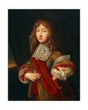 Portrait of a Young Knight Holding Insignia, C.1700 Giclee Print by Sebastien Bourdon