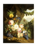 Still Life with Assorted Flowers Giclee Print by Josef Holstayn