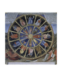 Detail of Prophets, Apostles and Saints from the Story of the Life of Christ, 1451-52 Giclee Print by  Fra Angelico