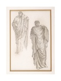 Study of a Draped Medusa, for the Finding of Medusa, C.1875 Giclee Print by Sir Edward Coley Burne-Jones