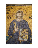 Detail of Jesus Christ Flanked by Emperor Constantine IX Monomachos and Empress Zoe Giclee Print