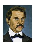 Janos Arany (1817-1882). Hungarian Poet Giclee Print