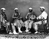 Bankers, Delhi, C.1863 Photographic Print by  Charles Shepherd and Arthur Robertson