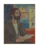 Portrait of Emile Bernard in Florence, 1893 Giclee Print by Paul Serusier