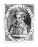 James VI of Scotland, Print Published by H. Jacopsen, 1618 Giclee Print by John De Critz