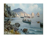 Boats in a Rocky Cove Giclee Print by Edward Henry Potthast