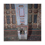 Teruel Cathedral. Coffered Ceiling. Aragon. Spain Giclee Print