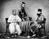 Nawabs, C.1863 Photographic Print by  Charles Shepherd and Arthur Robertson