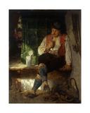 A Tavern Scene, 1875 Giclee Print by Hugo Wilhelm Kauffman