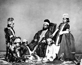 Moguls, Delhi C.1863 Photographic Print by  Charles Shepherd and Arthur Robertson
