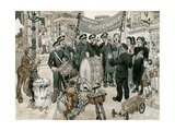 Salvation Army Giclee Print by Peter Jackson