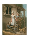 Old Chairs to Mend Giclee Print by Francis Wheatley