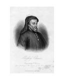 Geoffrey Chaucer Giclee Print by Samuel Freeman