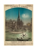 The Lights O' London Giclee Print by Alfred Concanen