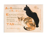 At the Bodiniere, 1894 Giclee Print by Théophile Alexandre Steinlen