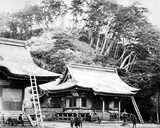 A Kamakura Temple, C.1867 Photographic Print by Felice Beato