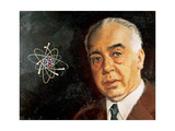 Niels Bohr (1885-1962). Danish Physicist Reproduction procédé giclée