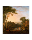 Landscape with Phaeton's Petition to Apollo Giclee Print by Richard Wilson