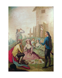 The Country Picnic Giclee Print by Francisco Bayeu Y Subias