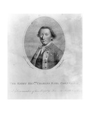 The Right Hon. Charles Earl Cornwallis, Print Made by C. Knight Giclee Print by Sir Joshua Reynolds