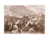 The Landing of Julius Caesar in England in 55 BC Giclee Print