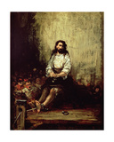 The Torture Victim Giclee Print by Eugenio Lucas Velazquez