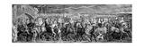 Chaucer's Canterbury Pilgrims, 1810 Giclée-tryk af William Blake