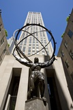 Statue of Atlas, Rockefeller Center, New York Photographic Print
