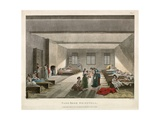 The Pass-Room Bridewell Prison Giclee Print by Thomas Rowlandson
