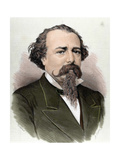 Lopez De Ayala, Adelardo (1828-1879). Poet, Playwright and Spanish Politician Giclee Print