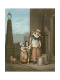 Milk Below, Maids Giclee Print by Francis Wheatley