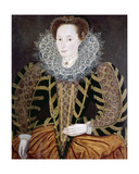 Lucy Harington, Countess of Bedford Giclee Print by Marcus, The Younger Gheeraerts