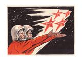 Towards the Stars !, C.1960s Giclée-Druck von Vadim Petrovich Volikov