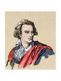 Alfieri, Vittorio, Conte (1749-1803). Italian Poet and Playwright Giclee Print