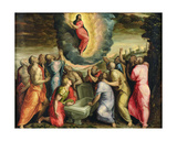 The Assumption of the Virgin Giclee Print by Gian Battista Angolo del Moro