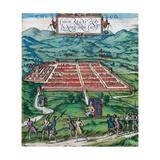 Cusco (Peru). 1576. 'Civitates Orbis Terrarum' Giclee Print