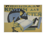 Gozizdat, Books for Children, C.1920s Giclee Print by Galina Konstantinovna Shubina