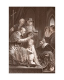 The Coronation of Henry Vi, Engraved by A.H. Payne Giclee Print by John Opie