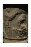Cinerary Urn with Reliefs Depicting Heracles (Hercules) Beginning in the Eleusinian Mysteries Giclee Print