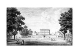 The Garden Front of Cliveden House in the County of Bucks, 1753 Giclee Print by John Donowell
