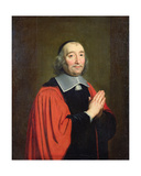 Germain Piètre, Prosecutor of the City of Paris, 1653 Giclee Print by Philippe De Champaigne