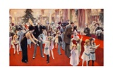 Children's Party at the Savoy Giclee Print by  English School