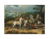 Rebecca at the Well Giclee Print by  Girolamo Da Treviso II