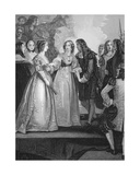 Charles II Receiving the Duchess of Orleans at Dover, Engraved by A.H. Payne Giclee Print by Thomas Stothard