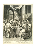 The Last Supper, 1653 Giclee Print by William Faithorne