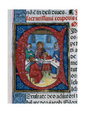 Initial. Missal Giclee Print