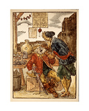 Medieval Dentist Giclee Print by Jost Amman